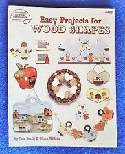 Easy Projects for Wood Shapes American School of Needlework #8805 c1986 New