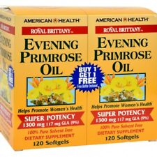 American Health Evening Primrose Oil (1300mg) Twin Pack 120+120 = 240 softgels