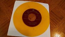 Jackie Wilson Lonely Teardrops / In The Blue Of Evening Yellow / Gold vinyl 45