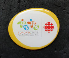 TORONTO 2015 Pan Am Olympic Games Canada CBC LIMITED Media pin