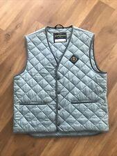 Henri Lloyd Mens Gilet Quilted Jacket Blue Vintage XL