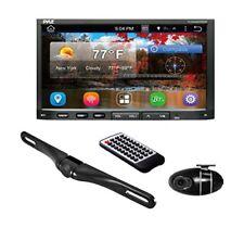 Pyle Double Din DVR DVD GPS Bluetooth Car Backup Camera Stereo