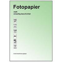 4 x 20 Blatt Fotopapier 10 x 15cm 180g Drucker Foto Papier
