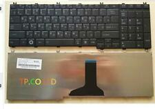 For Toshiba Satellite C650 C665 C670 C670D C675 C675D Keyboard Russian Black