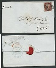 Numeral Cancellation Used Great Britain Stamp Covers