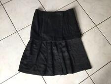Jupe COMPTOIRS DES COTONNIERS taille 38 noire impeccable