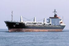 mc4261 - Greek Cargo Ship - Aeneas , built 1973 ex Cunard Carrier - photo 6x4