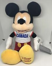 Disney Store Canada Mickey Mouse Medium Plush New with Tag