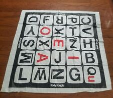 1984 Body Boggle Replacement Pieces/Parts, Vinyl Mat Board Only