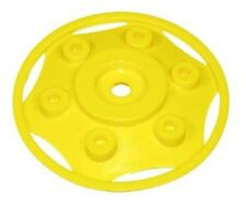 New Rolly Toys Pedal Farm Toy Trailer John Deere Wheel Trim  10cm Yellow Hub Cap