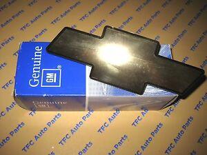 2002-2004 Chevy Trailblazer Gold Bowtie Grille Emblem OEM Genuine GM New Part