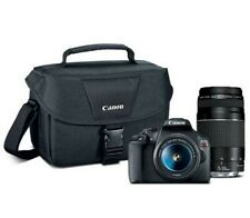 Canon EOS Rebel T7 EF18-55mm + EF 75-300mm Double Zoom KIT T7 EF18-55mm + EF 75-