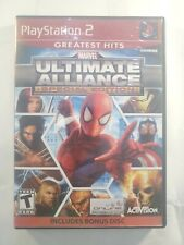 Marvel Ultimate Alliance Special Edition (Sony PlayStation 2, 2011) PS2 Tested