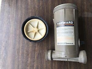 Genuine Hayward In-Line Pool Chlorinator CL200 Chlorine Feeder (used)