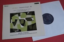 MB 856 Valois Stereo J.S Bach Organ Works Michel Chapuis Vol.16 FRANCE LP 1970