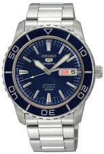 Seiko Analog Business Watch 5 Sports Silver Mens SNZH53K1