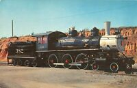 Cannonball II Casey Jones Ten-Wheeler Train Replica TN Railroad Postcard A01