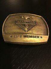 Handyman Club of America Life Member 1996 Belt Buckle