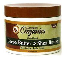 Ultimate Organique beurre de cacao et karité Hydratante Crème pour le corps 227g