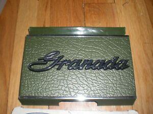 NOS 1975 Ford Granada Fuel Filler Opening Door Green D5DZ-66405A26-E