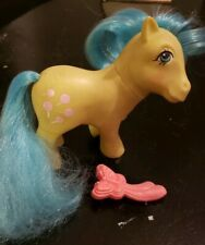 My Little Pony - Tootsie, with brush - G1 Vintage