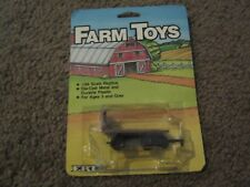 VINTAGE ERTL FARM TOYS RED HAY STACKING WAGON 1986 1/64 NEW ON CARD FREE SHIP
