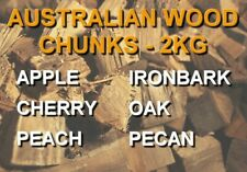 100% Australian Smoking Wood Chunks - 2kg