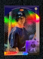 1998 Donruss Collections Preferred PRIZED Refractor #748 TODD HELTON CL RC /55