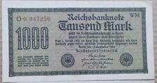 Reichsbanknote 1000 Mark 1922 Deutsches Reich 15.09.1922 Banknote