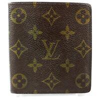 Auth Louis Vuitton Porte Billets Wallet #3024L86