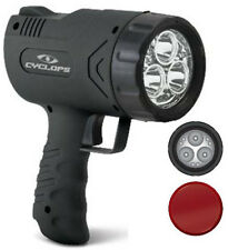 Cyclops Sirius 500 Lumen LED Rechargeable Handheld Light Spotlight AC 12V X500H