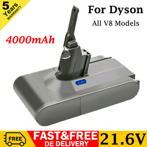 For Dyson V8 Absolute Animal Vacuum Cleaner 4.0Ah Li-Ion Battery 214730-01 AAA++