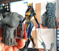 MARVEL WOLVERINE X23 || Custom Resin Model Kit Figure/Statue 1/10 190mm