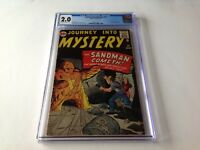 JOURNEY INTO MYSTERY 70 CGC 2.0 SANDMAN PROTOTYPE KIRBY DITKO MARVEL COMICS