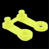 10Pcs Plastic Yellow Snap Clip Punch Card For Brother Knitting Machine Tool