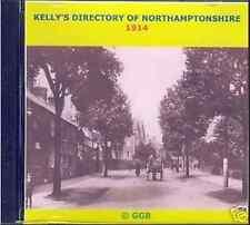 GENEALOGY DIRECTORY OF NORTHAMPTONSHIRE 1914 CD