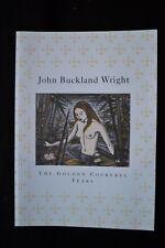 JOHN BUCKLAND WRIGHT NUDE ENGRAVINGS GOLDEN COCKEREL YEARS EXHIBITION CATALOGUE