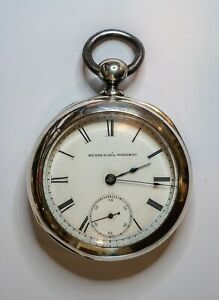 1885 ELGIN Nat'L Watch Co KWKS PW 18s 7j with key. [s/n.1526157].