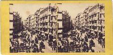 Paris Instantané Photo Stereo Vintage albumine ca 1865