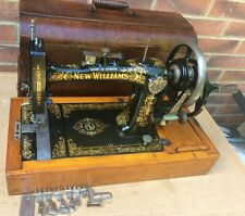 Beautiful New Williams Sewing machine with accessories and case