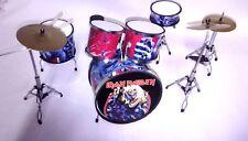 Iron Maiden Drum Set - Batteria in Miniatura - Miniature Drum Set - Mini Bateria