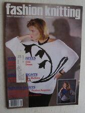 Fashion Knitting Magazine c oCT 85 #21