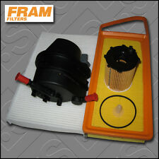 SERVICE KIT CITROEN C3 1.4 HDI 8V FRAM OIL AIR FUEL CABIN FILTERS (2002-2008)