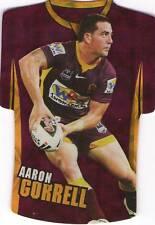 BRISBANE BRONCOS 2009 NRL Select Classic Die Cut AARON CORRELL JDC2 CARD