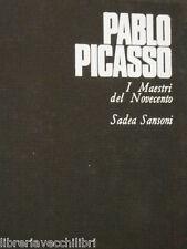 PABLO PICASSO Hans L Jaffe SADEA Sansoni I maestri del Novecento Arte Spagna di