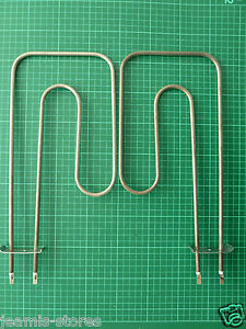 Pair Grill Element For Creda, Hotpoint, Indesit & Jackson