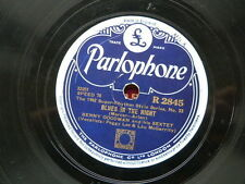78 rpm BENNY GOODMAN SEXTET blues in the night / where or when