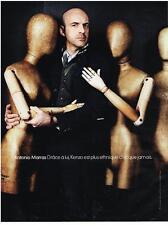 PUBLICITE ADVERTISING  2011   ANTONIO  MARRAS   pour la haute couture de  KENZO
