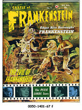 Castle of Frankenstein #5 © 1964 Gothic Castle v2#1