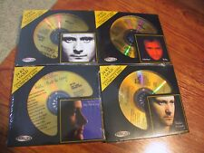 (4) 24K Gold CD Phil Collins Face Value No Jacket Required Audio Fidelity Sealed